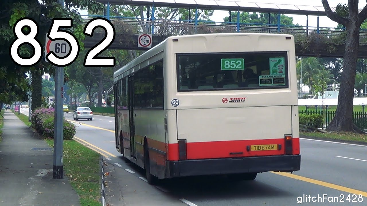 Smrt Retired Lentor Ave Tib674m On Service 852 Scania L113crl Strider Youtube