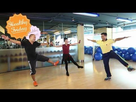 Healthy Friday [by Mahidol] Piloxing เล่น 1 ได้ถึง 3 (2/2) ออกกำลังกาย พิลาทิส + การชกมวย + การเต้น