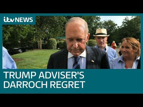 Donald Trump's adviser expresses 'regret' over Sir Kim Darroch resignation | ITV News