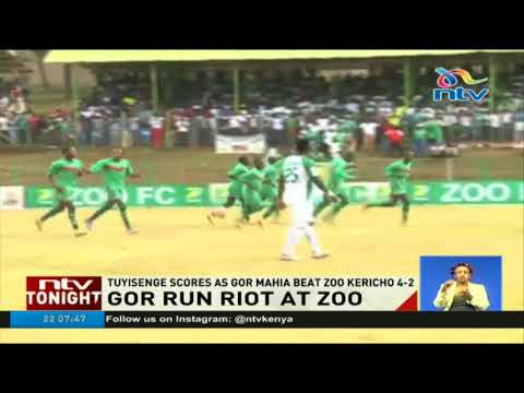 Tuyisenge scores as Gor Mahia beat Zoo Kericho 4-2