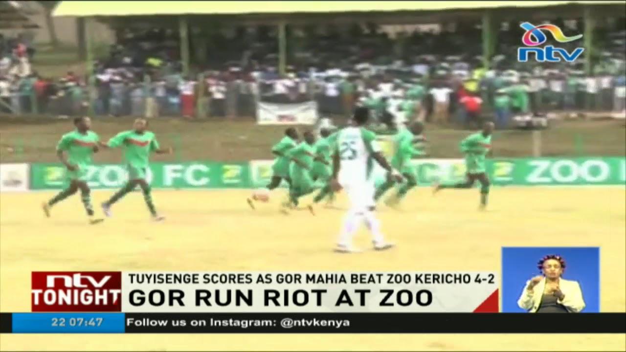 Tuyisenge scores as Gor Mahia beat Zoo Kericho 4-2