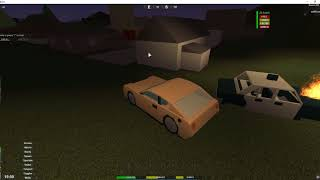 Roblox Apocalypse Rising-The Emergncy Cars Test