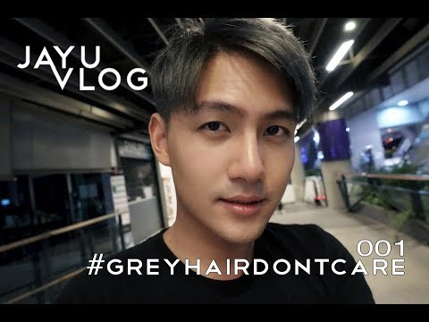 Got grey hair in BKK | JAYU VLOG 001