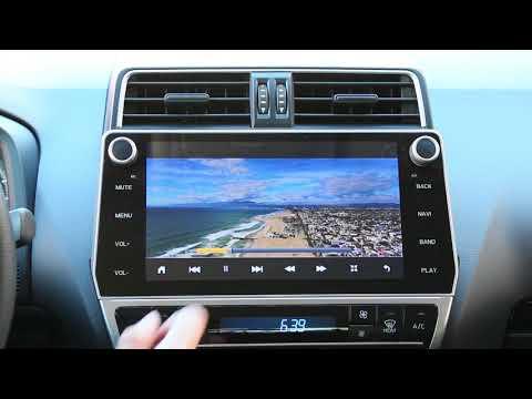 Видео Штатное головное устройство Toyota Land Cruiser Prado 150