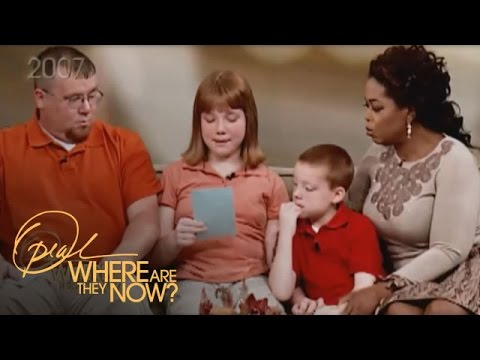 The Children Who Imprinted on Oprah's Heart | Where Are They Now | Oprah Winfrey Network