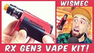 The Most Underrated Vape Kit Of 2017! The Wismec RX Gen3!