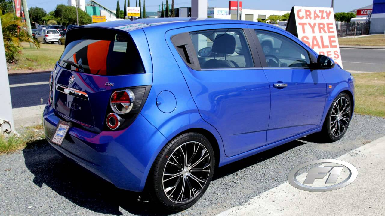 2012 Holden TM Barina lowered rolling 18 inch Advanti ...