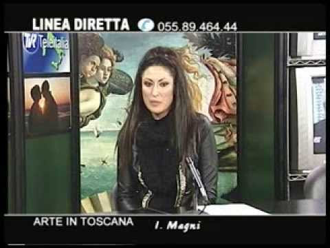 Art Connections - Intervista in diretta TV alla conduttrice
