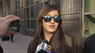 Woman comes face to face with ex-NYPD officers accused of raping her