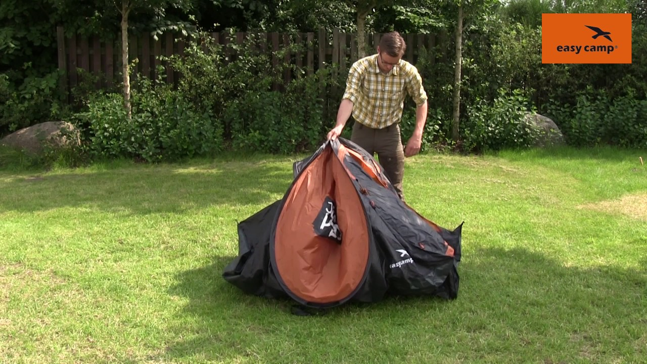 how to pack away a pop up tent