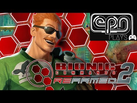 Let's Play Bionic Commando Rearmed 2 - Electric Playground