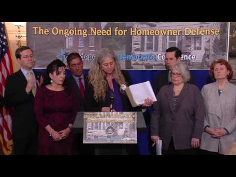 Independent Democratic Conference - Securing Funds for Foreclosure Defense