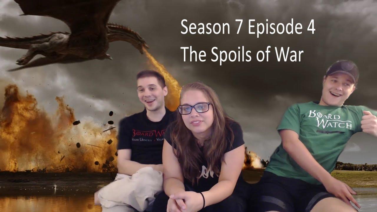 "Download Game of Thrones Reaction Season 7 Episode 4 ""The Spoils of War"" S07 E04"