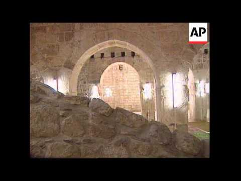 ISRAEL: RE-OPENING OF RENOVATED PRAYER HALL ON TEMPLE MOUNT