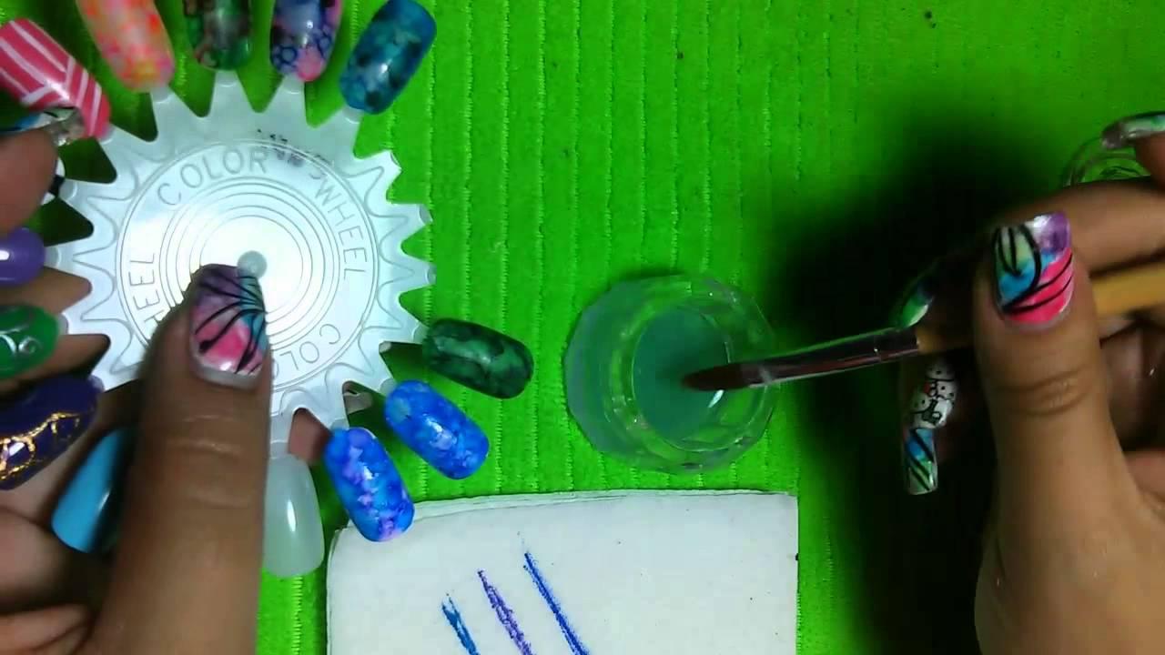 efecto cuarzo con plumones sharpie - YouTube