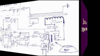 Схема генератора свободной энергии...