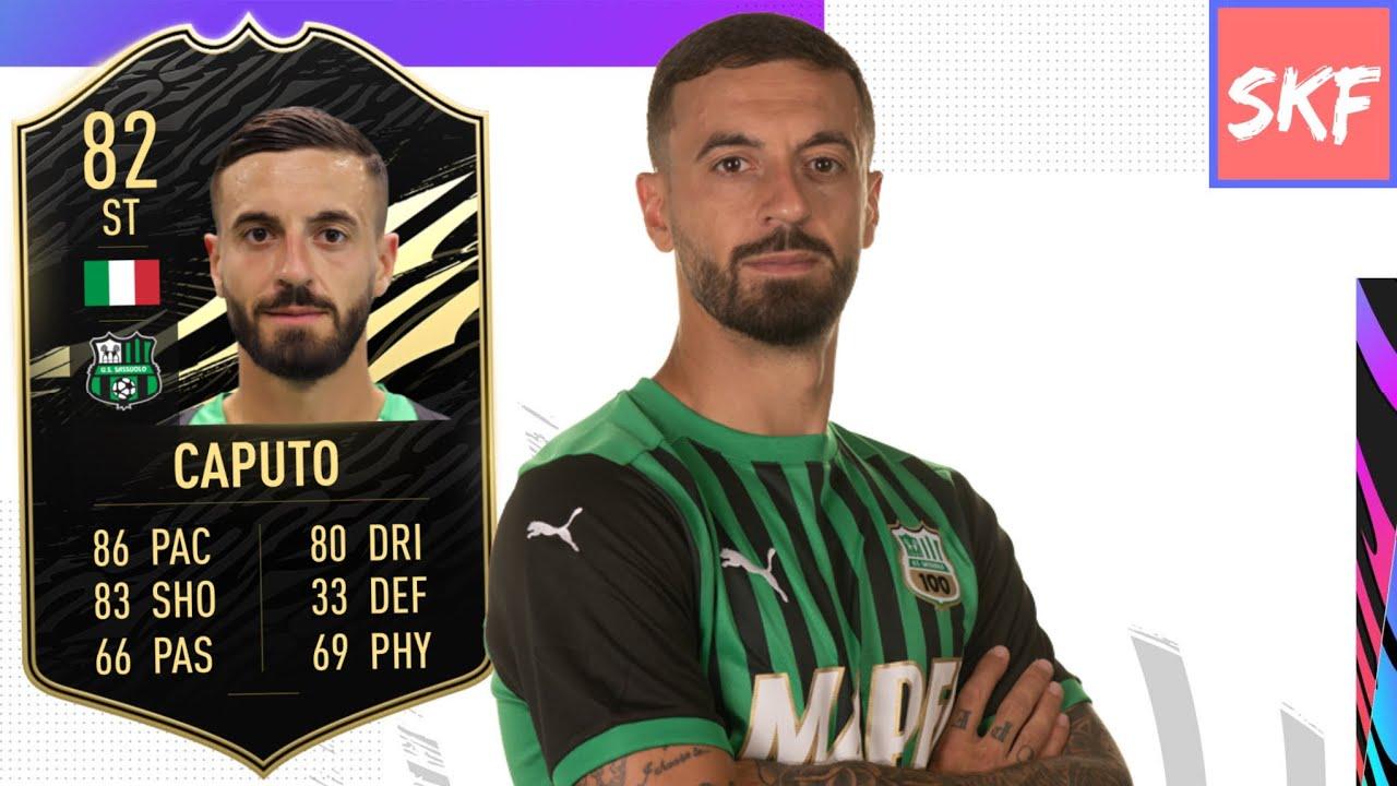 Fifa 21 82 Inform Francesco Caputo Player Review Youtube
