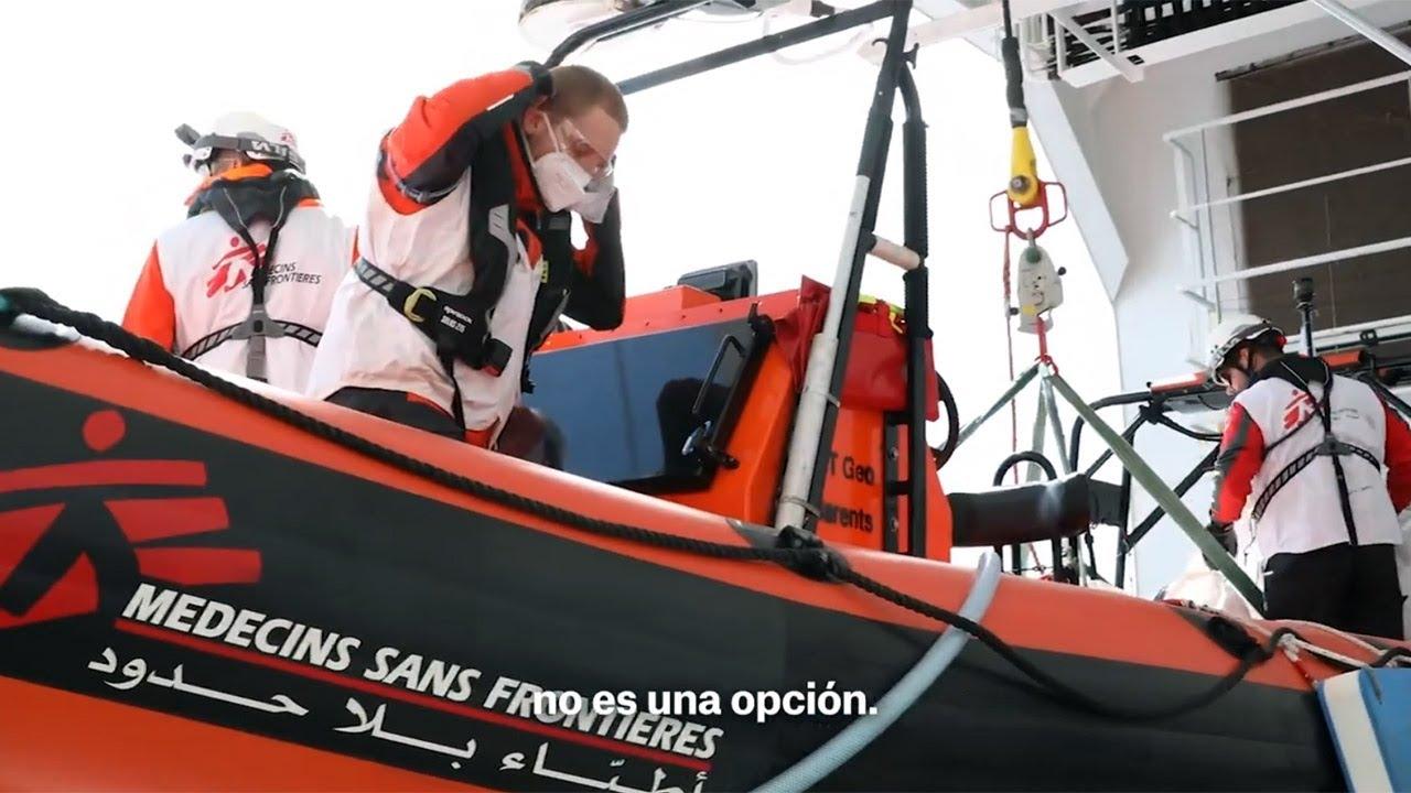Dejar que la gente de ahogue y muera en el mar no es una opción