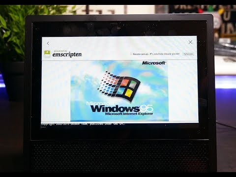 Amazon Echo Show - Use Hidden Web Browser