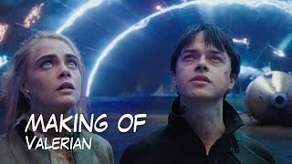 Making Of 'Valerian And The City Of A Thousand Planets' Luc Besson '2017'