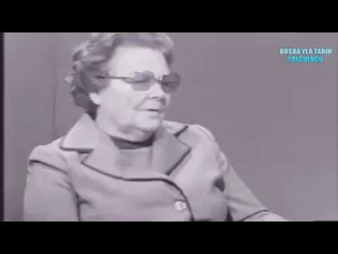"""Sabiha Gökçen: """"Atatürk bana tavana ateş etmemi söyledi."""" HATAY MESELESİ"""