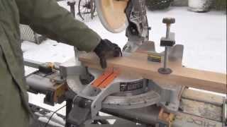 Red Oak Bench Build (pt 1/2)