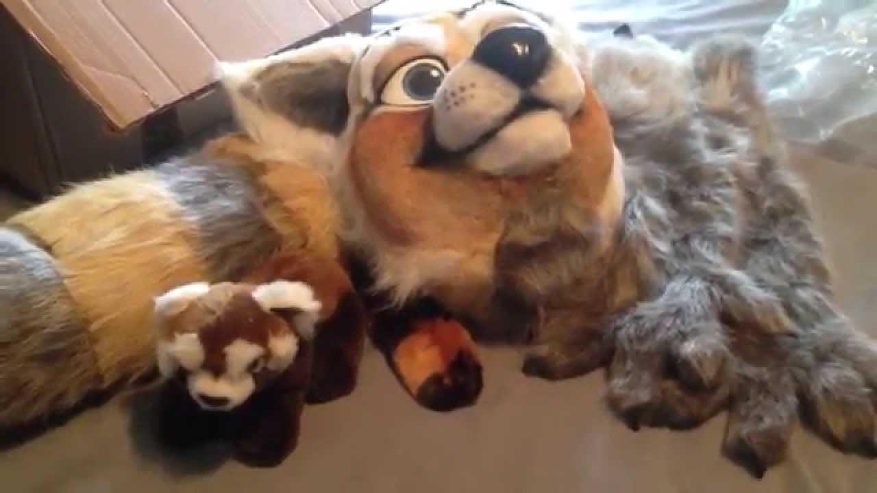 Fursuit Panda fursuit unboxing - sunara
