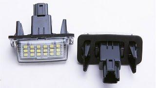 Светодиодные фонари подсветки номера для Peugeot 306 ► Посылка из Китая / AliExpress
