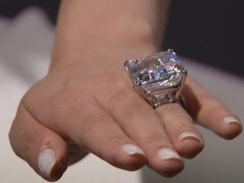 Rare 100 Carat Diamond Up For Auction Youtube