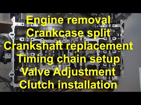 ape manual cam chain tensioner instructions