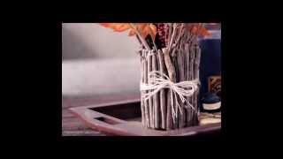Как сделать красивый эко-декор вазы(, 2014-12-02T22:01:30.000Z)