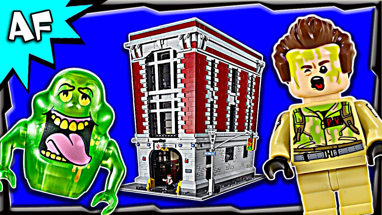 lego ghostbusters firehouse headquarters 75827 stop motion. Black Bedroom Furniture Sets. Home Design Ideas