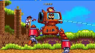 Classic Sega Megadrive Games - Gunstar Heroes Walkthrough
