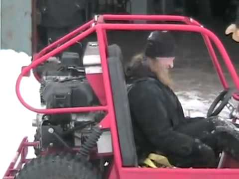One Cool Motorcycle Powered Dune Buggy To Test At