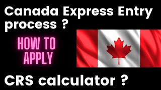canada PR point system easy way/express entry process/ CRS score calculator/ required documents