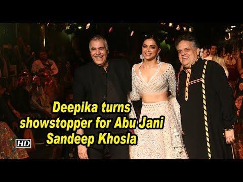 Deepika turns showstopper for Abu Jani Sandeep Khoslas 33rd anniversary bash Mp3