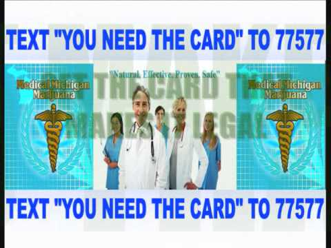 MEDICAL MARIJUANA CARD LICENSE MICHIGAN LEGAL WEED SMOKE DETROIT