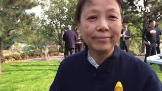 赵紫阳墓前采访王雁南:不敢相信这是真的