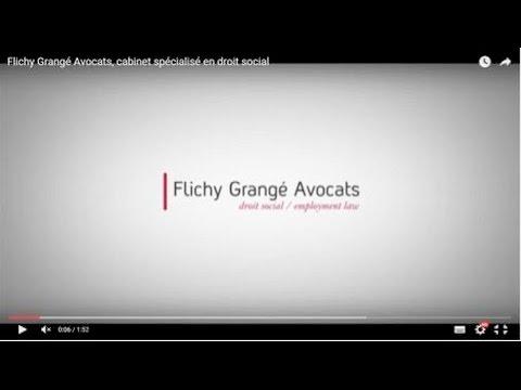 présentation du cabinet flichy grangé avocats - youtube