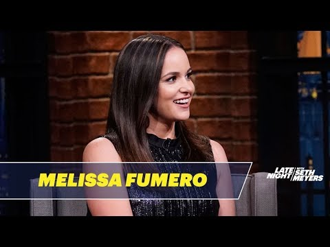Melissa Fumero Loves It When Andy Samberg Is Grumpy On The Set Of Brooklyn Nine-Nine