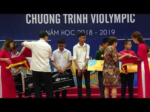Vietnam Plus   Trao giải cuộc thi Violympic cấp quốc gia năm  học 2018-2019