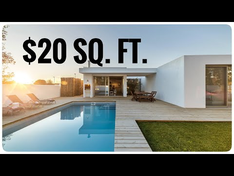 This video will piss off Contractors .. How to build a house for $20 a square foot