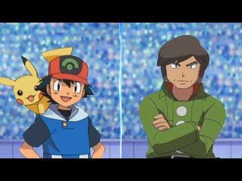 Pokémon Battle USUM Hoenn Ash Vs Brandon (Hoenn League)