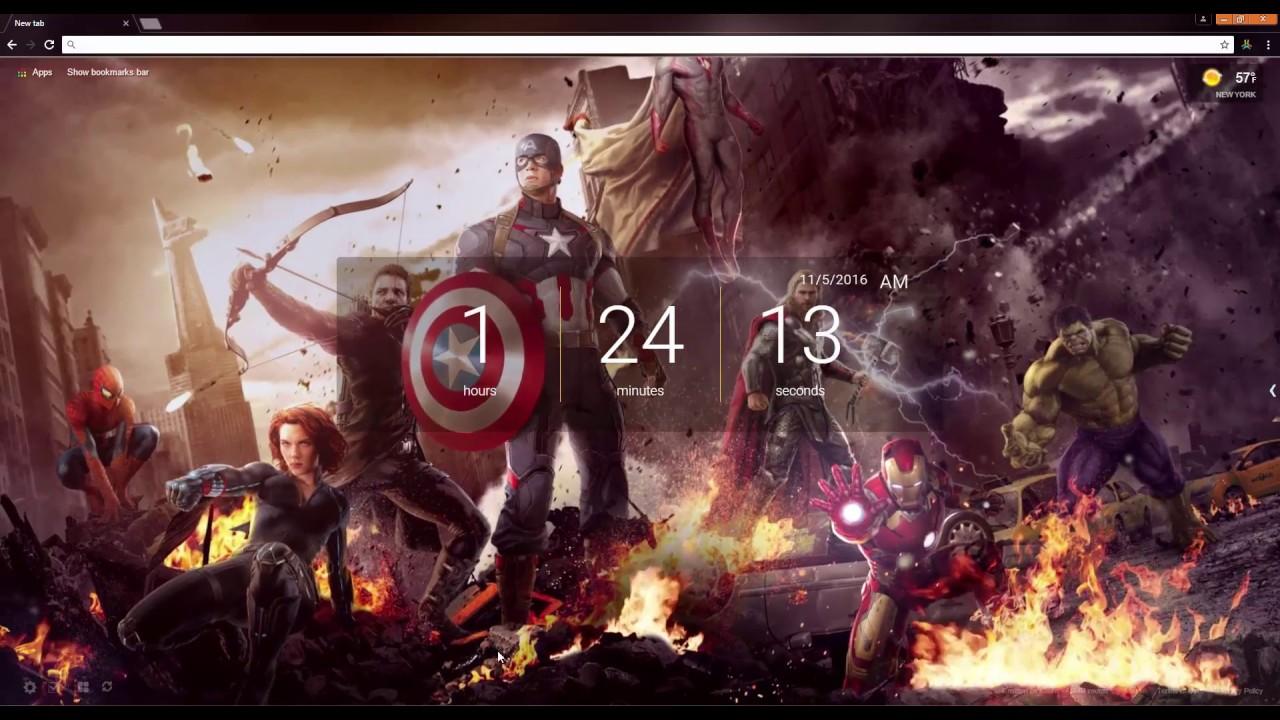 The Avengers Live Wallpaper - YouTube