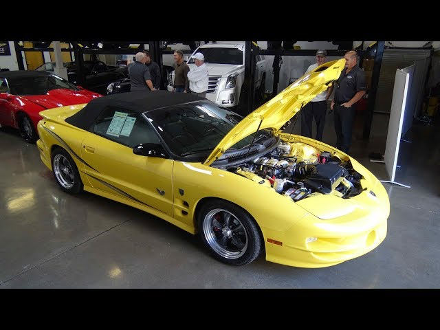 Driving a 680 HP 2002 Collector Edition Trans Am convertible built by GMMG.