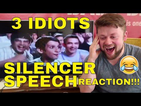 3 IDIOTS - SILENCER SPEECH Reaction!!! (MAJOR CHANNEL NEWS!)