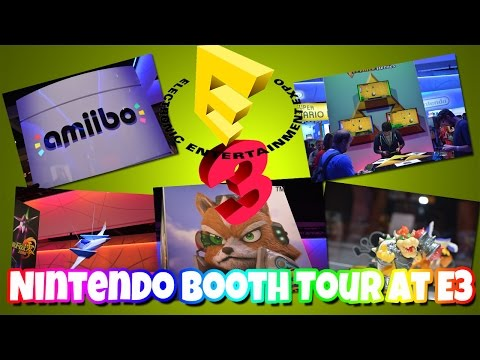 Nintendo Booth Tour at E3 2015 [Electronic Entertainment Expo]
