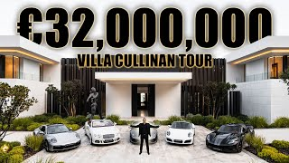 Inside €32.000.000 Villa Cullinan Best Luxury Modern House in Marbella, Zagaleta | Drumelia Tour #10