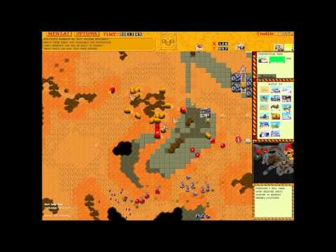 Dune 2 The Golden Path 2v2 Harkonnen vs Atreides long game