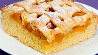 Наконец-то! Нашелся самый простой и самый быстрый рецепт абрикосового пирога к чаю! | Appetitno.TV